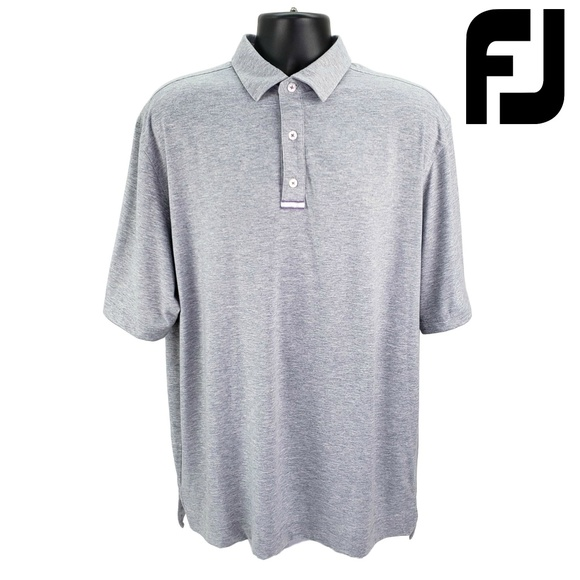 FootJoy Other - FOOTJOY Golf Men's XL Performance Polo Shirt Gray